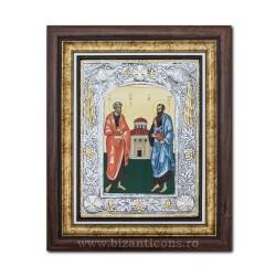 Икона argintata - Святых Апостолов Петра и Павла, 36x44cm K700-431