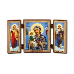 181-718 Διάσπαση ξύλο, 13x7,3 MD, Ιερουσαλήμ, ένδυμα, μπλε 11buc/κιβώτιο
