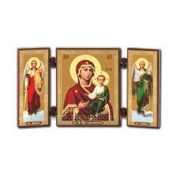 181-502 Triptic lemn 13x7,3 MD Smolensk 11buc/cutie