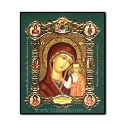 Icoana med V mdf 15x18 MD Kazan - bizantina 1855-510