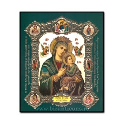 Icon-med V-mdf, 15x18, MD Garb, green 1855-619