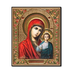 1868-132 the Icon to the Russian, 3D mdf, 15x18, MD Kazan.