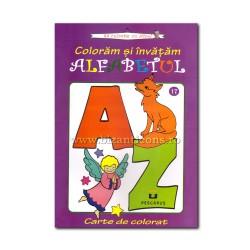 71-626 Coloram si invatam alfabetul