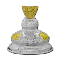 100-94B-SG BAZA cruce aurita si argintata 30/bax