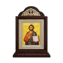 Икона Ковчег деревянный 18x24 Пантократор (вседержитель) ICR20-001