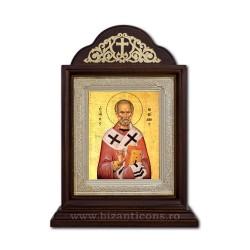 Икона Ковчег дерева, 18x26 Святого Николая ICR20-009
