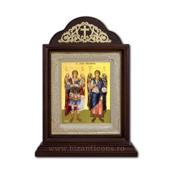 Icon the Ark wood, 18x28 St. Michael's and Gabriel ICR20-033