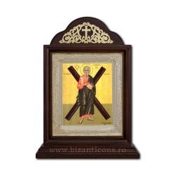 Icoana Chivot lemn 18x27 Sf Andrei ICR20-118