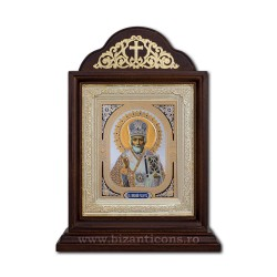 Икона Ковчег деревянный 18x40 Sf-Николай ICR20-183