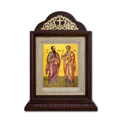 Icoana Chivot lemn 18x30 Sf Petru si Pavel ICR20-431