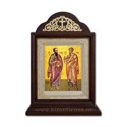 Икона Ковчег деревянный 18x30 Святого Петра и Павла, ICR20-431