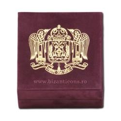 68-8 коробка запонки 7x7x4 Герб Patriarhala