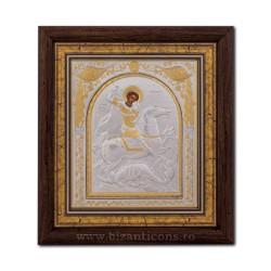 ИКОНА в раме 24x26 - Святой Георгий EP514-010