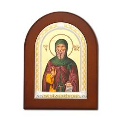 Icoana foita lemn Sf Antonie 15,5x21,5 TM 40-435