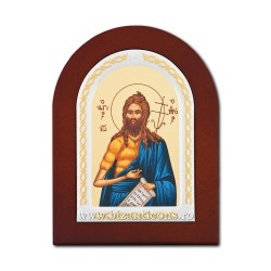 Icoana foita lemn Sf Ioan Botezatorul 15,5x21,5 TM 40-460