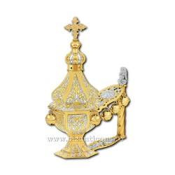 CADELNITA MANA hexa 1 aurita si argintata - X66-600