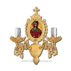 APLICA bronz korniza icoana 2 becuri aurita - X95-784 / 83-548