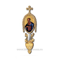 APLICA bronz icoana 1 bec aurita - X95-786 / 83-550