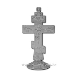 6-48Ag крест, металл, 12,5 см, на основе, 200/коробка