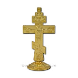6-48Au cross, metal, 12.5 cm with a base of 200/carton