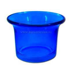 39-2Ab pahare candela - mic Albastru 210/bax
