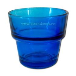 The 39-3Ab glass of medium-high-7 o'clock 6 to 8 d - Blue-120/160/bulk