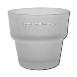 39-3М стакан, средний, большой, 7h 6,8 г - МАТОВЫЙ белый, 120/160/коробка