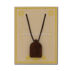 The 24-132-necklace-ata + inset wood, MD, 12/set