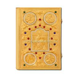 EVANGELIE μεγάλες πέτρες - χρυσό SF304-14