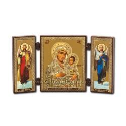 181-006 Triptic lemn 13x7,3 MD Ierusalim 11buc/cutie