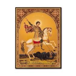 1865-010 Icoana ruseasca PAL 30x40 Sf Gheorghe