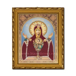 The icon of the garment - frame 30x40 MD Chalice of everlasting IT34-041