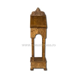 Iconostas lemn masiv - gravat - mic T15-800