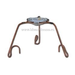 Suport metal pt ars tamaie - cupru 10/set 100/pachet D 69-51