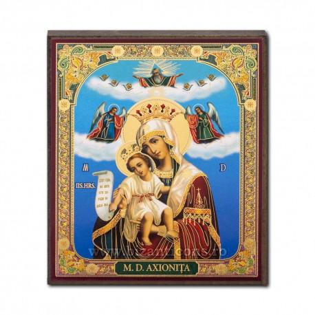 1852-022 Icoana ruseasca mdf 10x12 MD Axionita