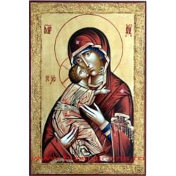 Icoana Pictata - Maica Domnului