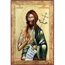 Icoana Pictata - Sf. Prooroc Ioan Botezatorul 60x40cm