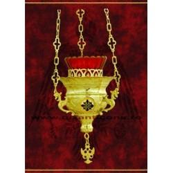 Candela lant - medalion email