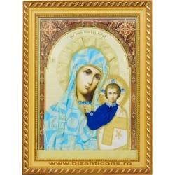 Icoana imbracata in Vesmant - Maica Domnului din Kazani
