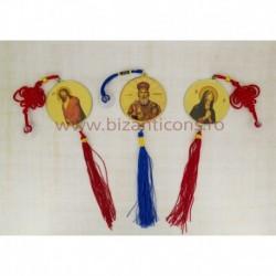 15-2 medalion auto - rotund 6cm 12/set