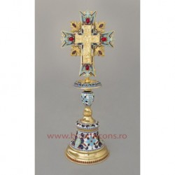 Cruce altar - email complet + pietre - baza fixa