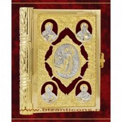 Evanghelie aurita si argintata - mica