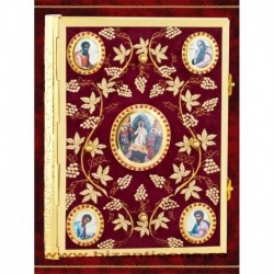 Evanghelie Catifea Medalioane Evanghelisti