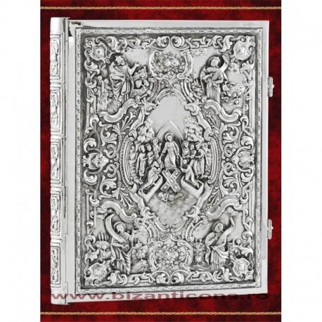 Evanghelie argintata - patina