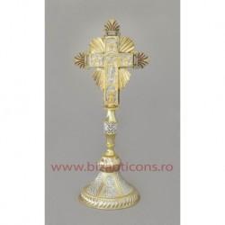 Cruce altar - bicolor + email - baza fixa