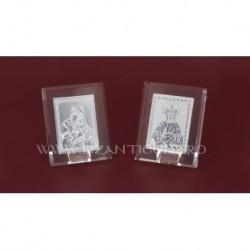 Icoana Argintie - cristal