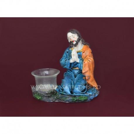 Candela rasina - Iisus la rugaciune