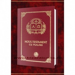 Noul Testament cu Psalmi - maro - mic