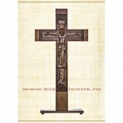 Cruce Altar Lemn Sculptat 180 cm