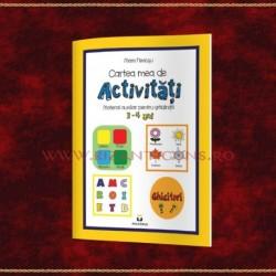Cartea mea de activitati 3-4 ani